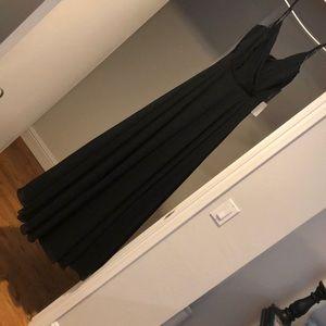 Lulu Long Black Maxi Dress